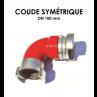 Coude symétrique DN 100-01