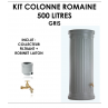 Kit colonne romaine gris 500 litres-01