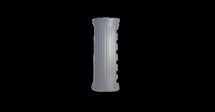 Kit colonne romaine murale gris 550 litres-01