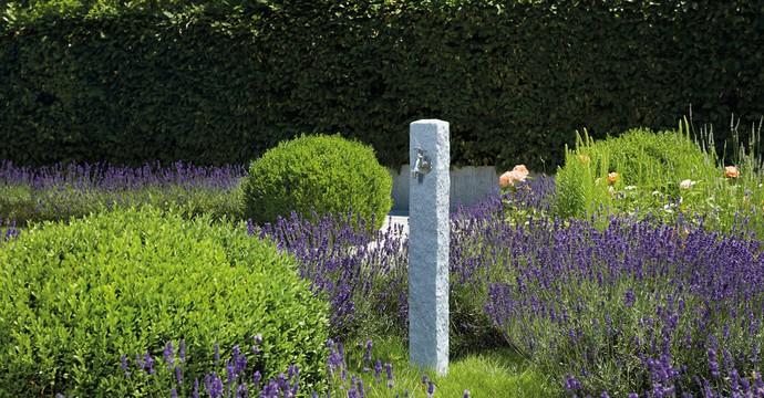 Fontaine granit en PE Gris clair-06