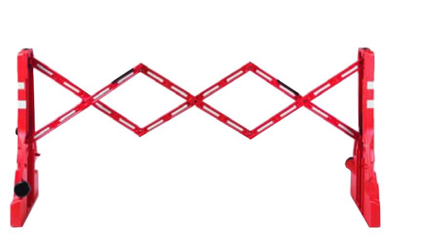 Barrière extensible haute visibilité-01