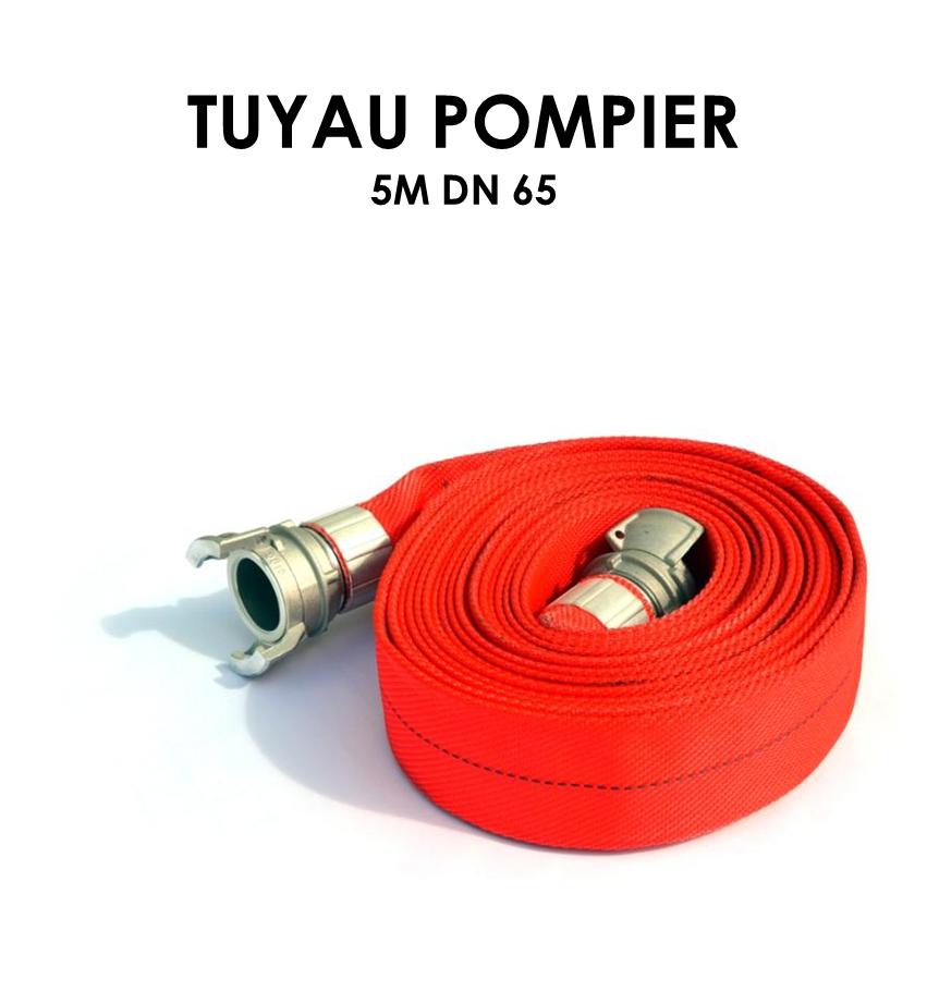 Tuyau pompier 5m DN 65-01