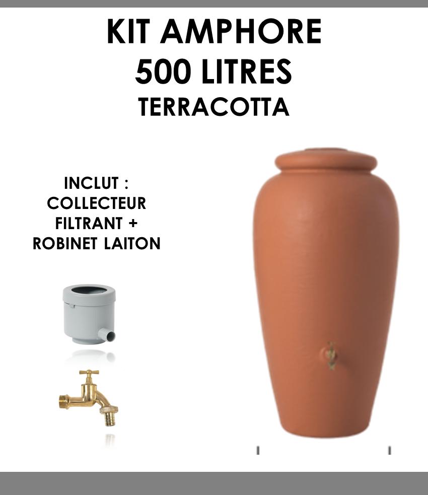 Kit amphore Terracotta 500 litres-01