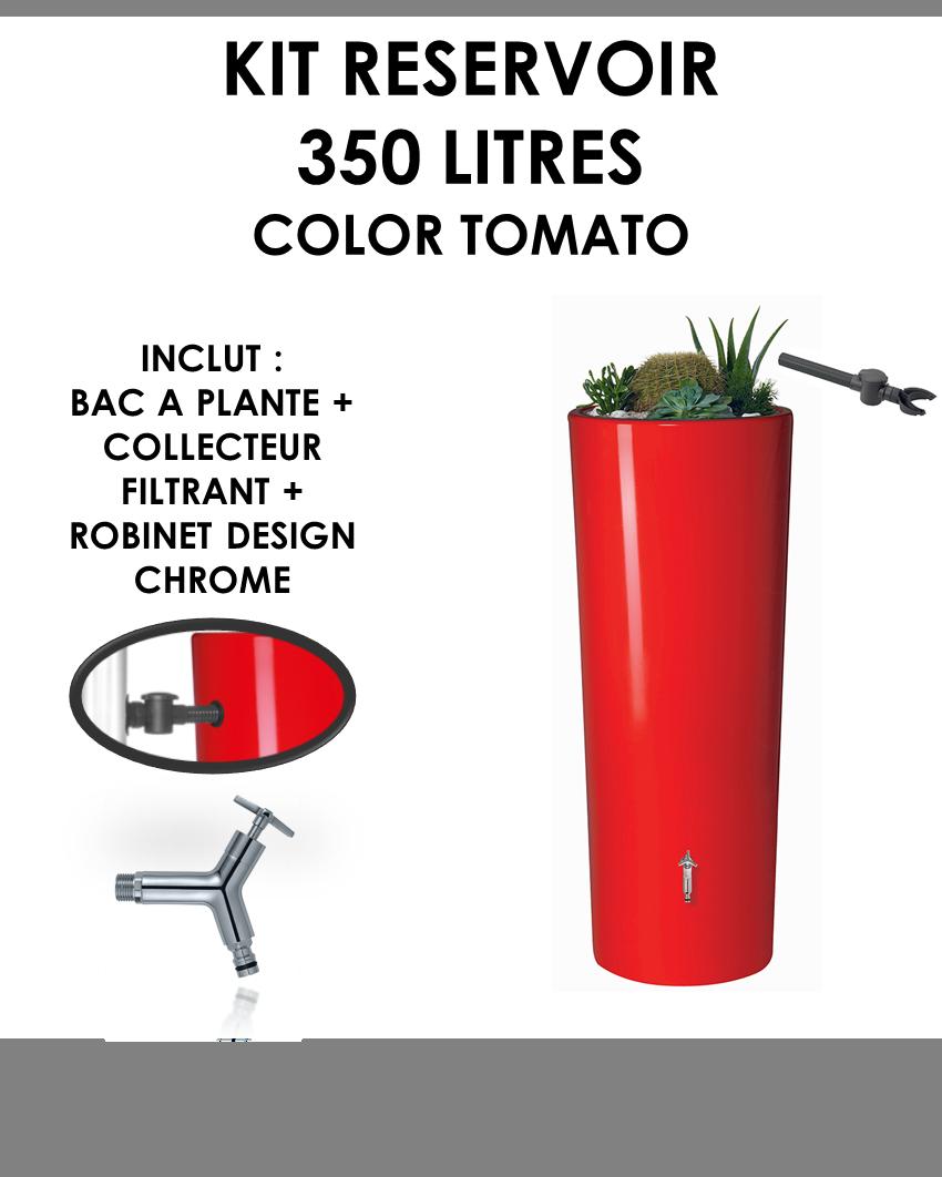 Kit reservoir COLOR 350 litres TOMATO-01
