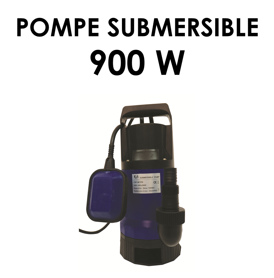 Pompe submersible 900 W-02