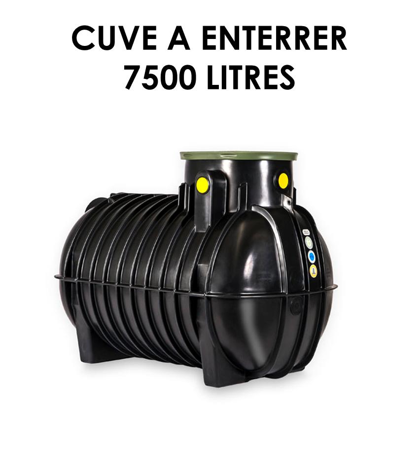 Réservoir de récupération d'eau de pluie à enterrer 7500 litres-01